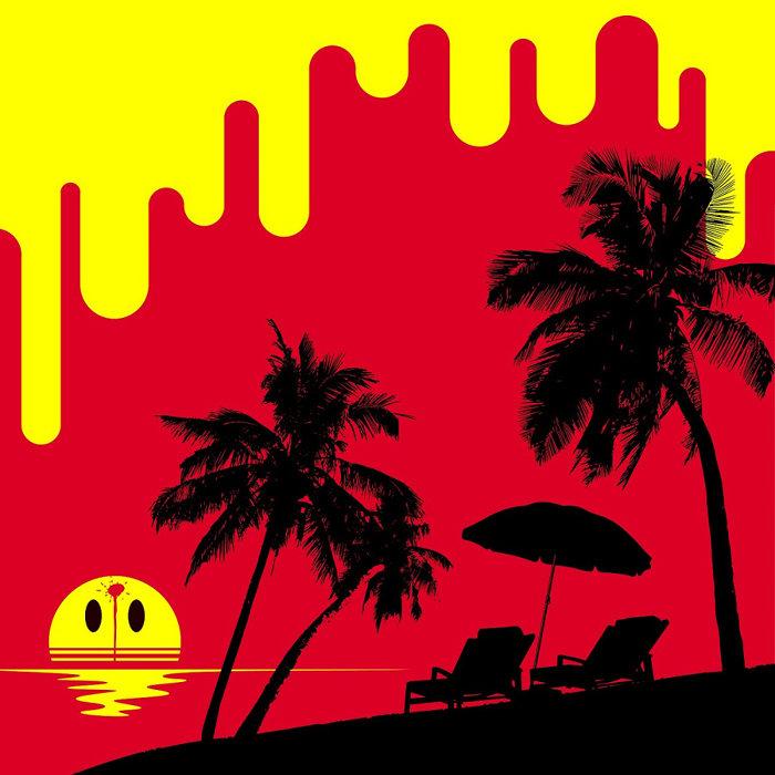 石野卓球『Chat on the beach』ジャケット