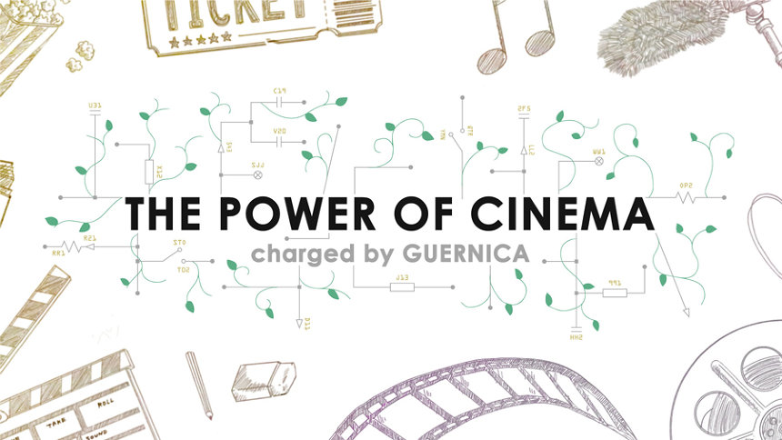 『THE POWER OF CINEMA charged by GUERNICA』ビジュアル