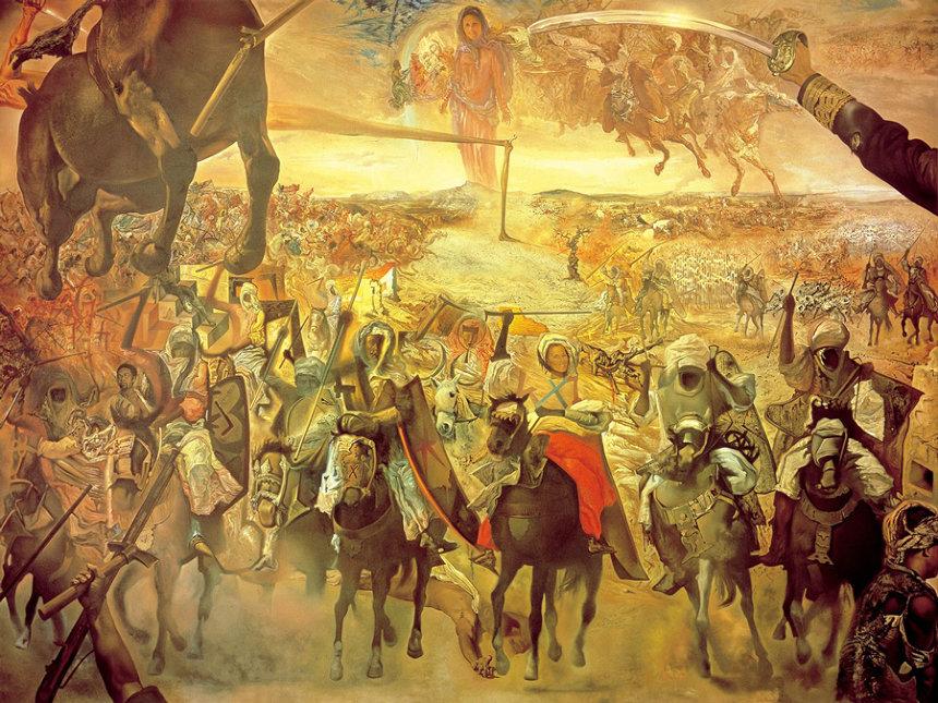 サルバドール・ダリ『テトゥアンの大会戦』