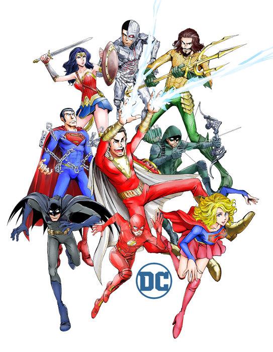 「DCヒーローズ」コラボイラスト ©モンキー・パンチ/エム・ピー・ワークス