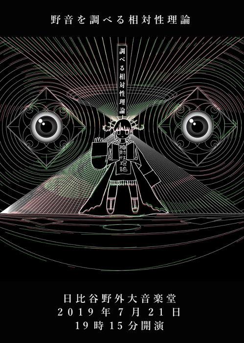『野音を調べる相対性理論』ビジュアル