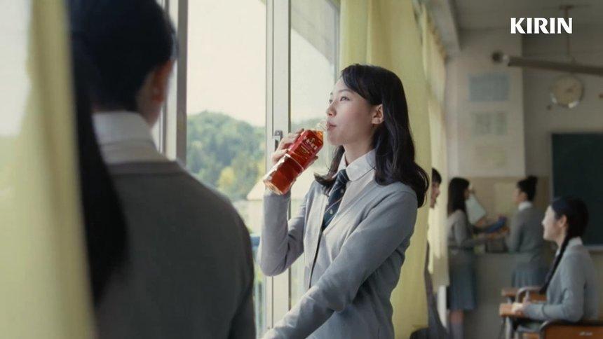 「キリン 午後の紅茶」CM「紅茶派宣言 ありのままの私」篇