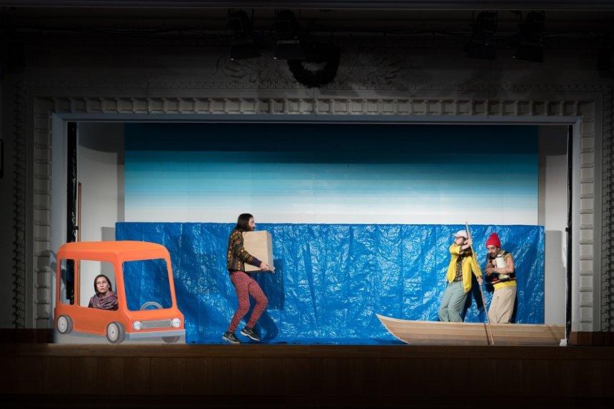 神里雄大/岡崎藝術座『バルパライソの長い坂をくだる話』 撮影:井上嘉和