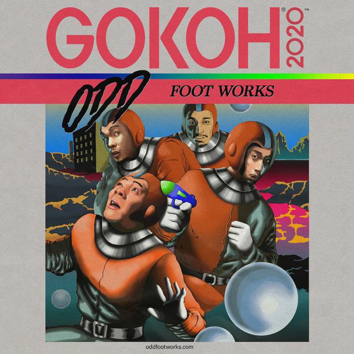踊Foot Works『GOKOH』ジャケット