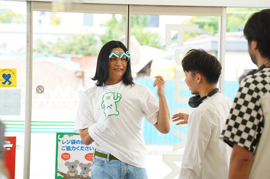 「ファミペイ」テレビCM「香取ファミ平さま御来店」篇メイキング