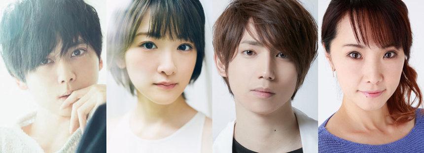 10月4日、5日公演に出演の梶裕貴、生駒里奈、有澤樟太郎、濱田めぐみ
