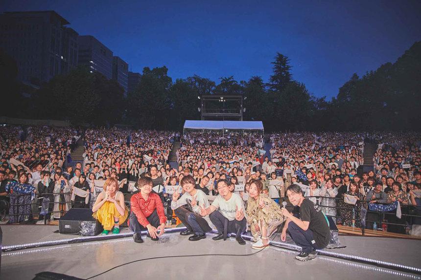 日比谷野外音楽堂公演の模様 撮影:井手康朗