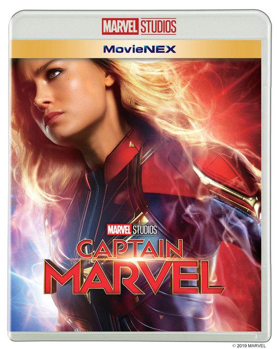 『キャプテン・マーベル MovieNEX』ジャケット ©2019 MARVEL