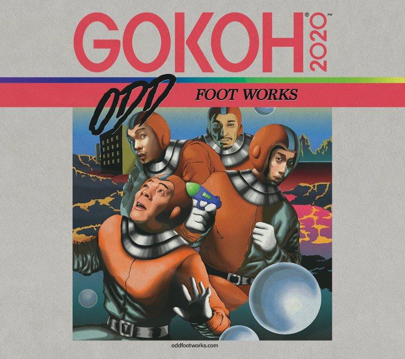 踊Foot Works『GOKOH+KAMISAMA』ジャケット