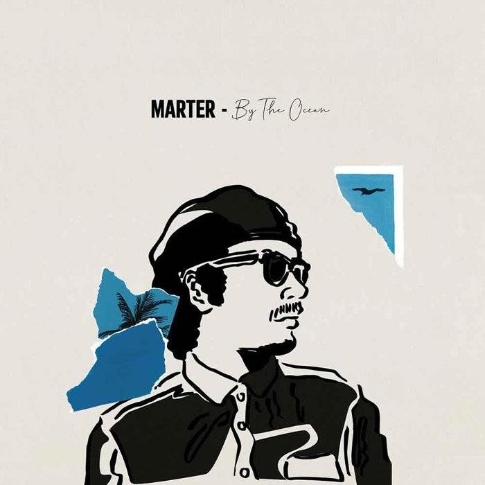 MARTER『By The Ocean』ジャケット