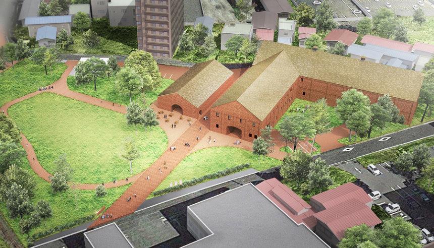 田根剛が建築デザイン「弘前れんが倉庫美術館」が2020年4月、青森に ...