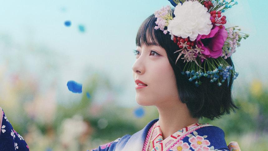 「京都きもの友禅」新CM「変わらない美しさ」篇より