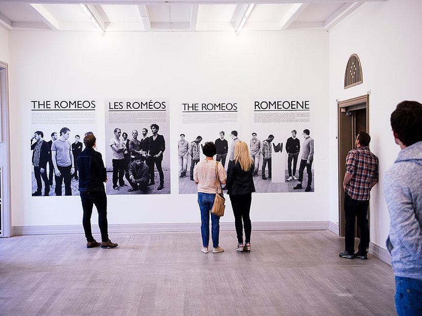 ドラ・ガルシア『The Romeos』 2018、個展「Love Comes From the Most Unexpected Places」Trondheim Kunstmuseum、トロンハイム(ノルウェー) Photo: Aksel-Dev Dhunsi Copyright: Trondheim Kunstmuseum and Dora García