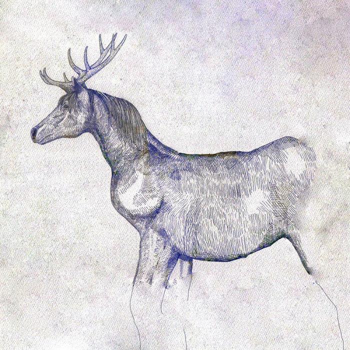 米津玄師『馬と鹿』ジャケット