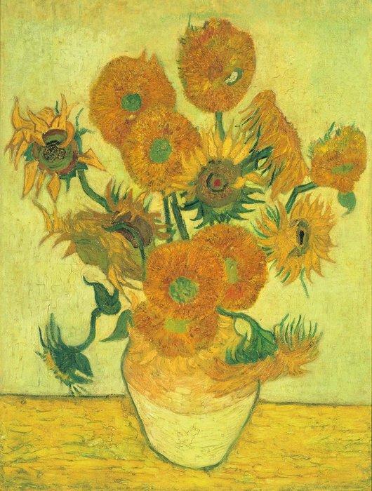 フィンセント・ファン・ゴッホ『ひまわり』1888年 油彩・キャンヴァス 100.5×76.5cm