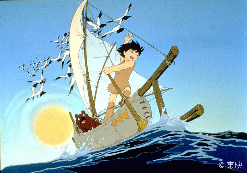 『太陽の王子 ホルスの大冒険(英語字幕付き)』 ©東映