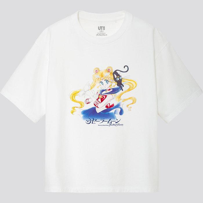 『美少女戦士セーラームーン』×「UT」Tシャツ ©Naoko Takeuchi