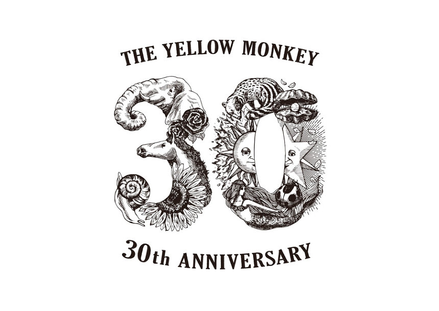『THE YELLOW MONKEY 30th Anniversary DOME TOUR』ロゴ