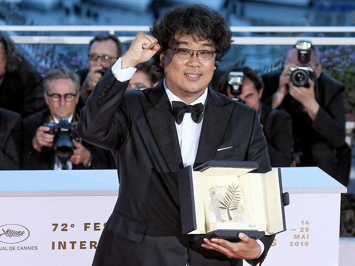 『第72回カンヌ国際映画祭』でのポン・ジュノ