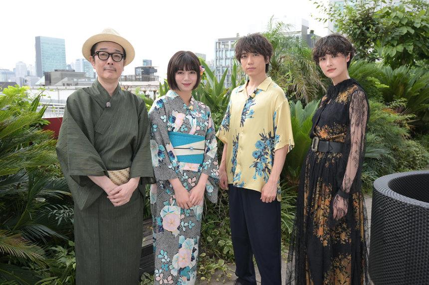 左からリリー・フランキー、池田エライザ、山崎育三郎、シシド・カフカ