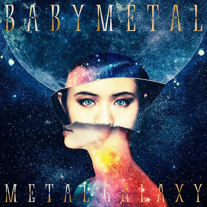 BABYMETAL『METAL GALAXY』初回生産限定MOON盤ジャケット