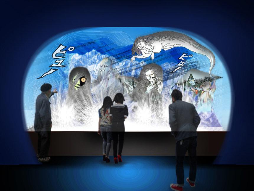「風雪洞窟」イメージビジュアル ©水木プロダクション