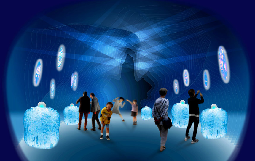 「妖光の洞窟」イメージビジュアル ©水木プロダクション