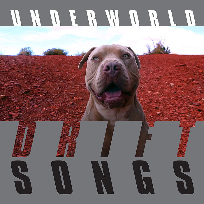 Underworld『DRIFT SONGS』ジャケット
