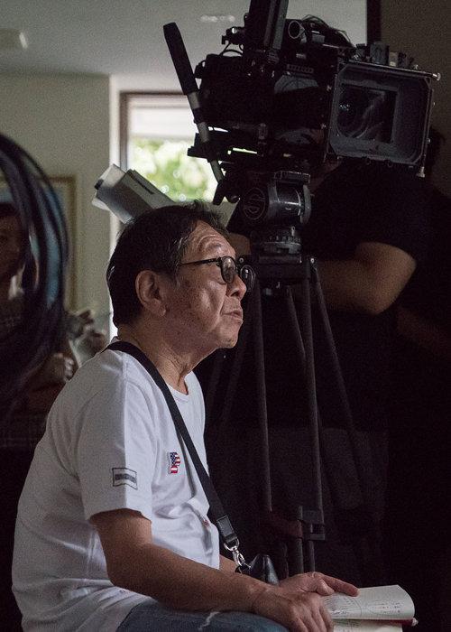 高橋伴明監督 ©「痛くない死に方」製作委員会