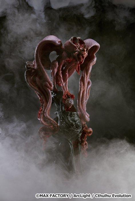 竹谷隆之デザインによるクトゥルフ ©MAX FACTORY / ArcLight / Cthulhu Evolution