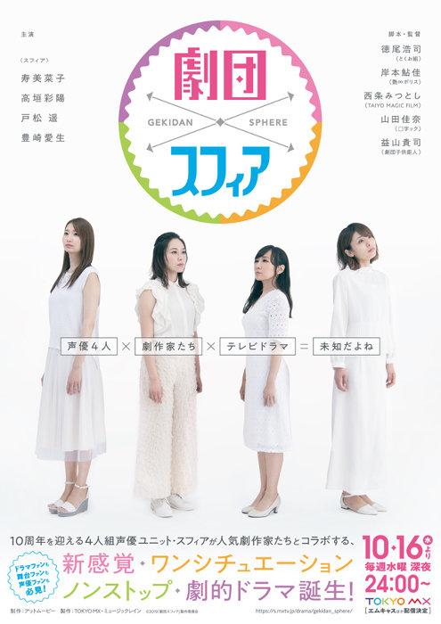 『劇団スフィア』ビジュアル 2019「劇団スフィア」製作委員会
