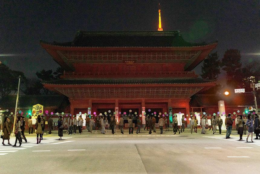 "『Tokyo Tokyo FESTIVAL スペシャル13「Light and Sound Installatio ""Coded Field""」』イメージ"