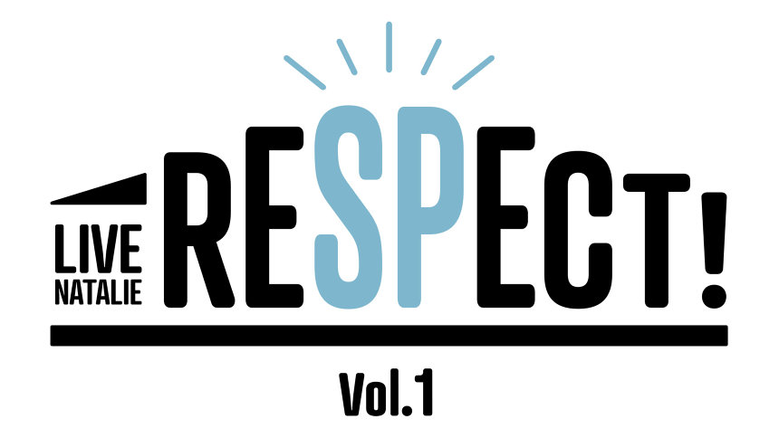 『ライブナタリー Presents RESPECT! Vol.1』ロゴ