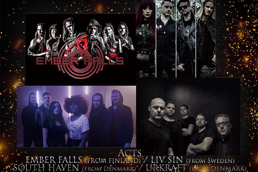 北欧メタルバンド4組が代官山に集う『HOKUO LOUD NIGHT』、11月に開催