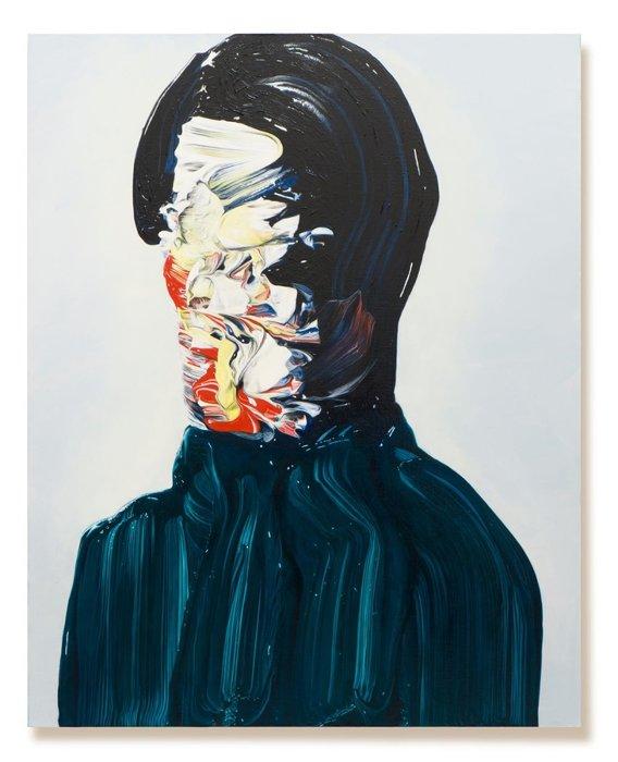 『絵画のための絵画018』2019年、キャンバスにアクリル絵具、油絵具、91x72.7cm ©︎Teppei Takeda / MAHO KUBOTA GALLERY