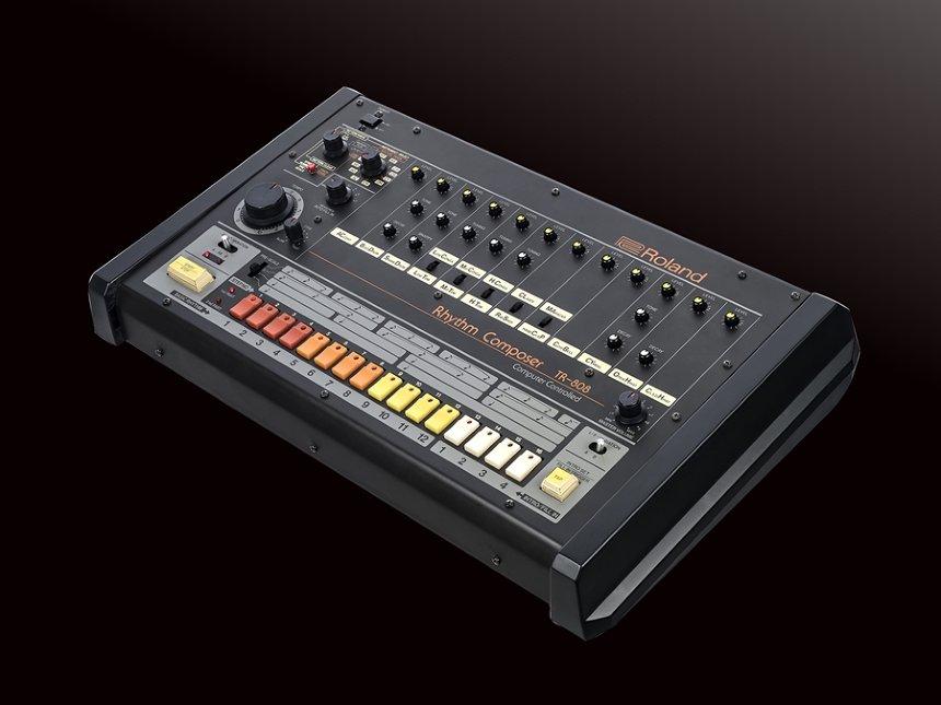 ローランドのリズムマシン「TR-808」