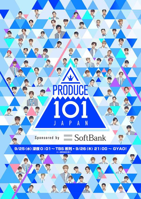 『PRODUCE 101 JAPAN』ポスタービジュアル