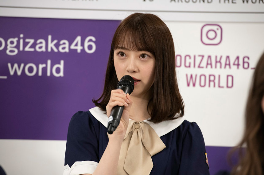 『#乃木坂世界旅 今野さんほっといてよ!』記者会見の模様 ©AbemaTV
