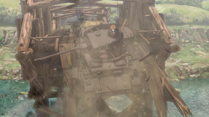 『ガールズ&パンツァー 最終章 4D ~第1話+第2話~』 ©GIRLS und PANZER Finale Projekt