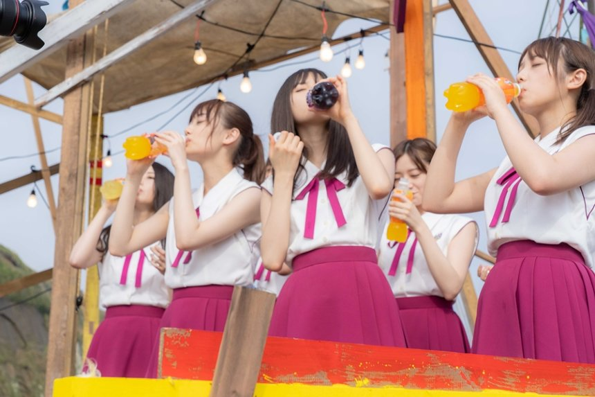 『ファンタ坂学園と大合唱計画「Sing Out!」』撮影風景