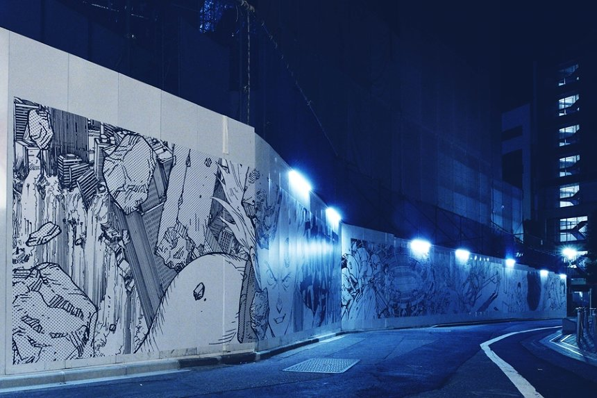 「ART WALL」過去作品 撮影:TAKAMURADAISUKE