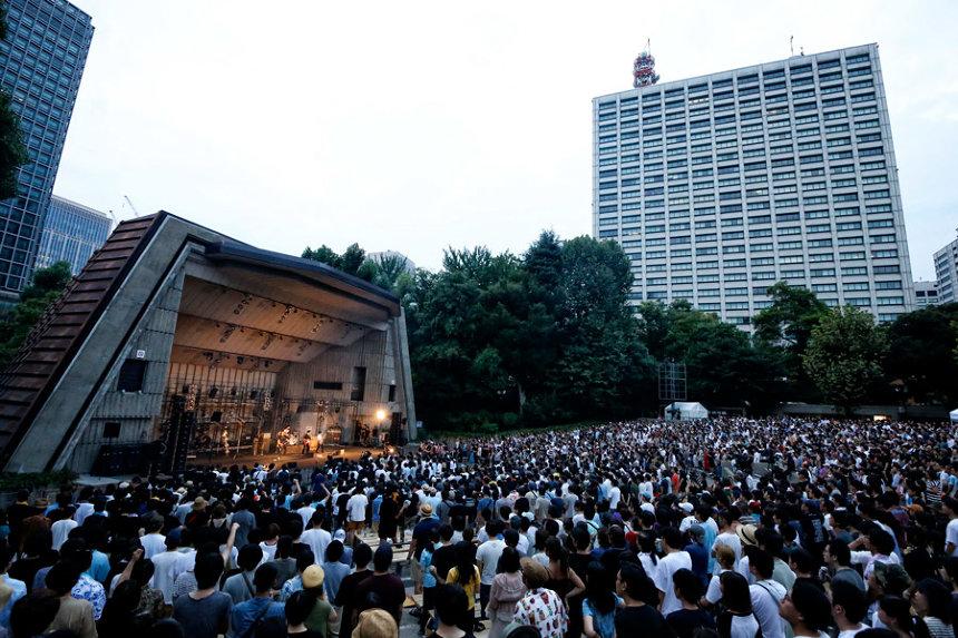 『TOUR「NUMBER GIRL」』日比谷野外大音楽堂公演 photo by 菊池茂夫