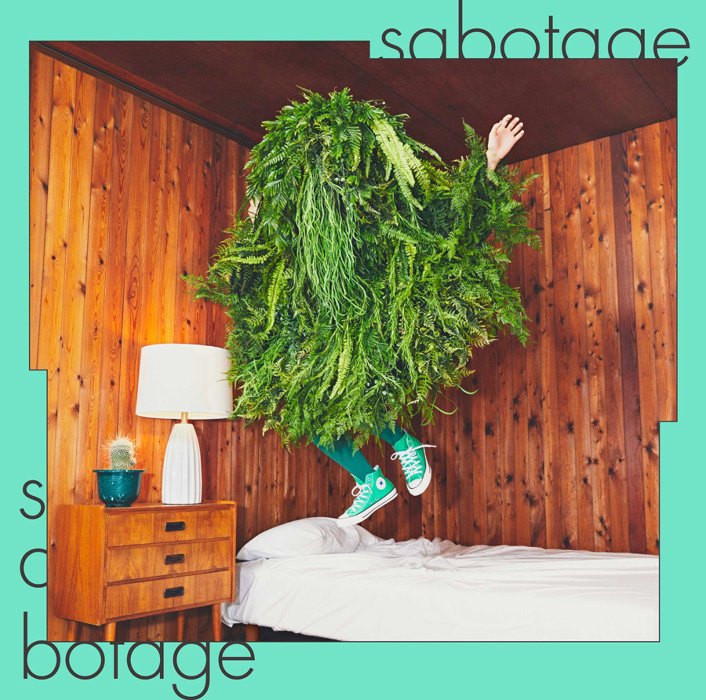 緑黄色社会『sabotage』通常盤ジャケット