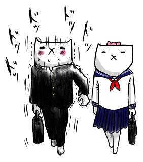 芦沢ムネトLINEスタンプ「フテネコ~青春編~」