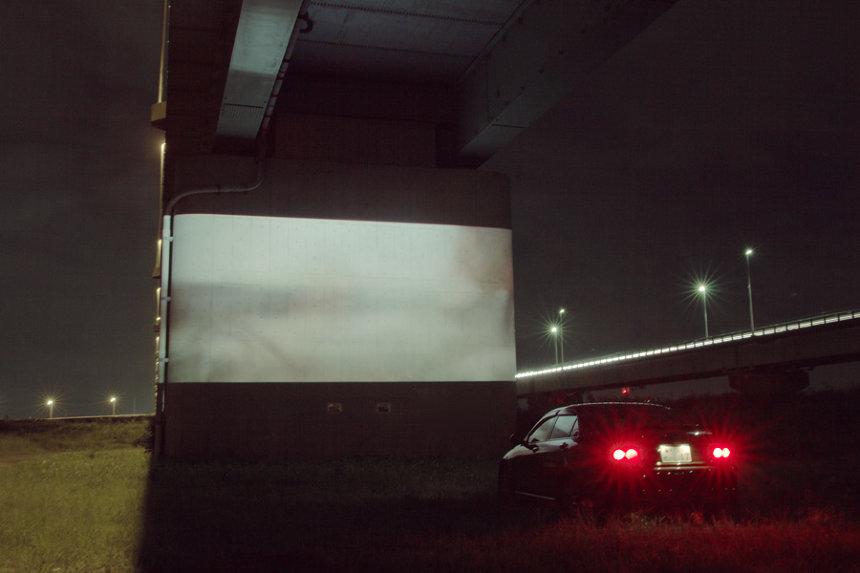 『Drive in theater 01 in Kawagoe』イメージビジュアル