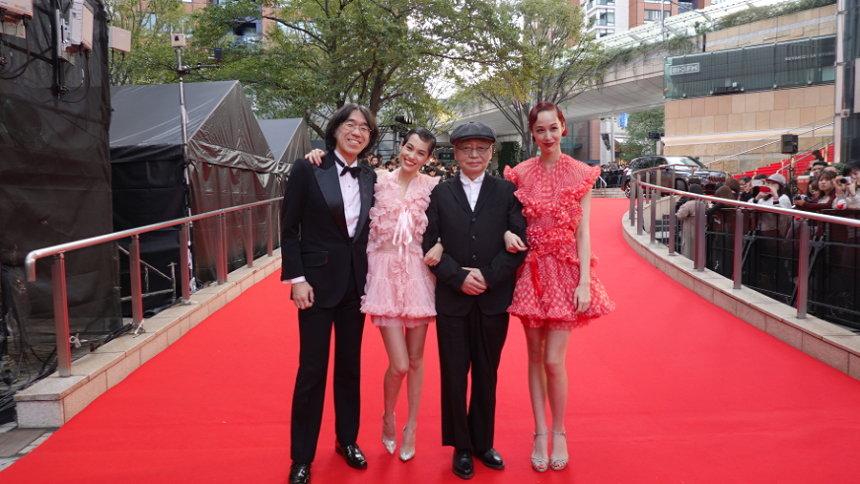 『第32回東京国際映画祭』レッドカーペット