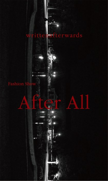 "『writtenafterwards Fashion Show ""After All""』ビジュアル"
