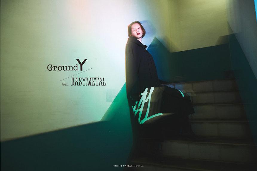 "「Ground Y feat. BABYMETAL""GALAXY""Collection」 Photographed by masatoshiyamashiro"
