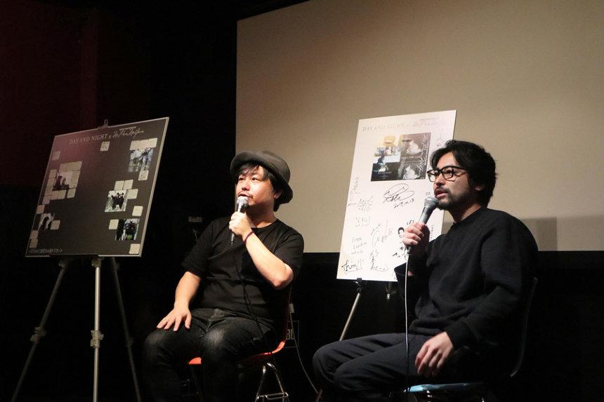 11月3日にアップリンク渋谷で行なわれた山田孝之、牧監督によるトークイベントの模様