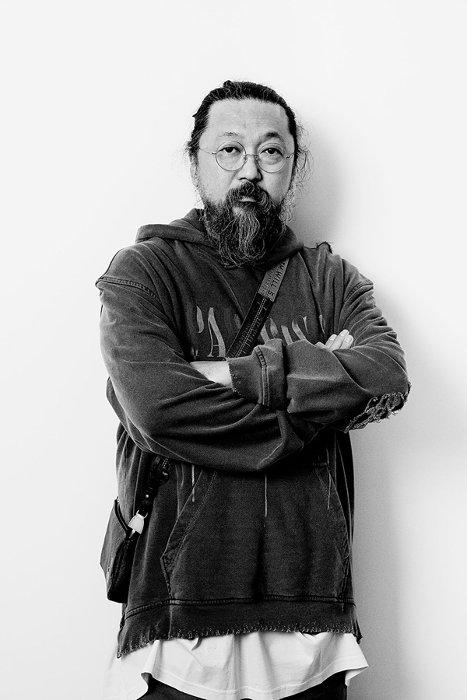 Portrait of Takashi Murakami.Photo:Guillaume Ziccarelli ©Takashi Murakami/Kaikai Kiki Co., Ltd. All Rights Reserved.